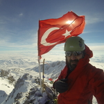 Summit of Erciyes 6/02/2017 Winter Solo Ascent