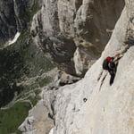 South Face, Marmolada (3 343 m / 10 968 ft)