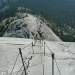 Cables Route, Half Dome (2 690 m / 8 825 ft)