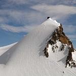 Punta Gnifetti (4 554 m / 14 941 ft)