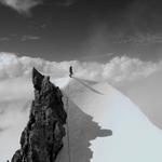 via North Ridge, Dykhtau (5 204 m / 17 074 ft)