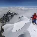 via Gouter Ridge, Mont Blanc (4 810 m / 15 781 ft)