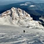 Climbing Jamapa glacier in Pico de Orizaba