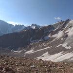 1B from pass Molodezhnyy, Molodezhnaya (4 147 m / 13 606 ft)