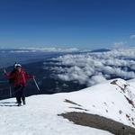 A walk on Pico de Orizaba's crater