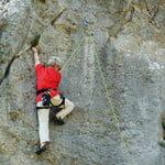 Rock climbing at Diamioni
