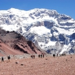 New Year on the top of Andes