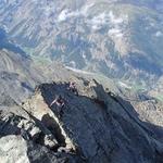 Traverse, Grabenhorn (3 372 m / 11 063 ft)