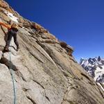 South-West Face, Aiguille du Midi (3 842 m / 12 605 ft)