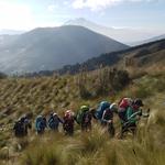 Climbing Illiniza Norte (16,818ft/ 5.126 m) in 2 days