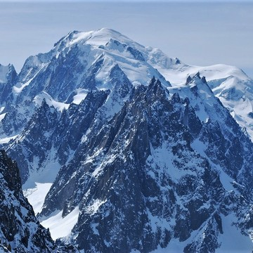 Breathtaking views of Mont Blanc