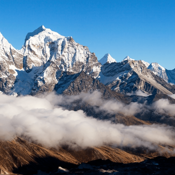 Breathtaking views of Everest