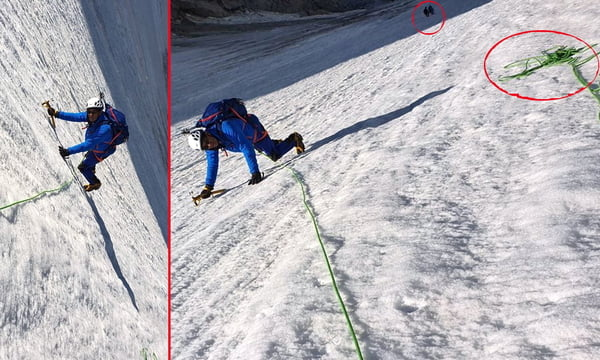 French politician accused of doctoring photo of Alpine climb
