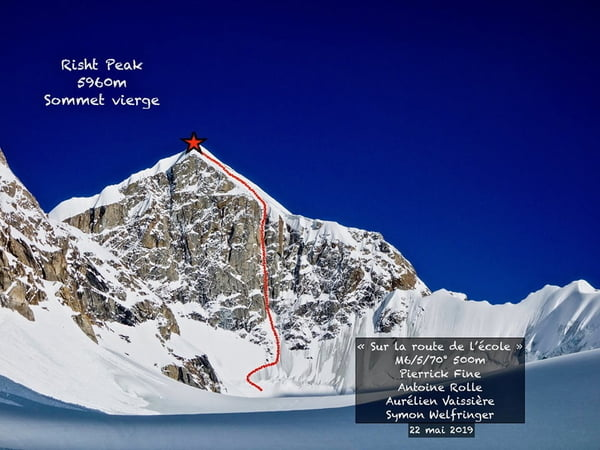 Risht Peak first ascent in Pakistan's unexplored Yarkhun valley