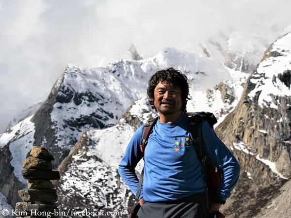 Fingerless S. Korean Climber Has Reached the Summit of Gasherbrum I