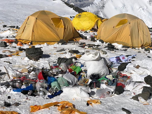 Plan to clear Everest of bodies, trash