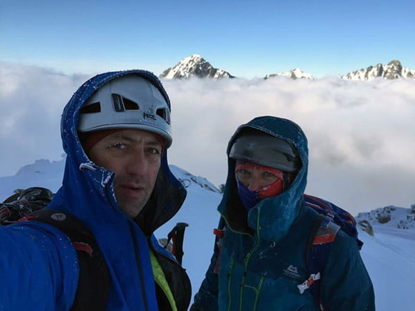 Peter, Horia eye record ascent on Mt Dhaulagiri