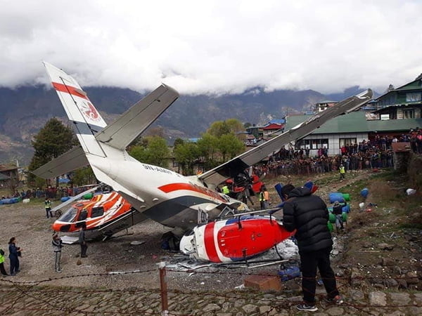 Three killed, three injured in Lukla crash