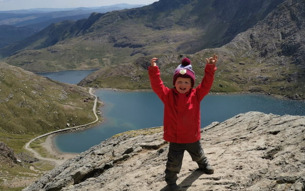 Toddler Becomes Youngest Person to Climb Three Peaks in Memory of His 'First Best Friend'