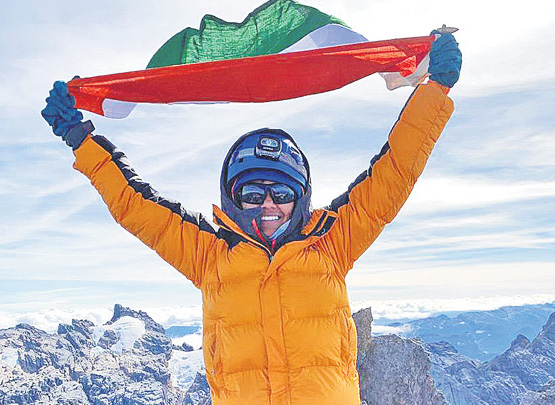 18-year-old Malavath Poorna scales Indonesia's Cartensz Pyramid