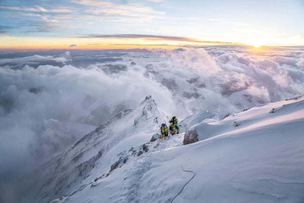 "Vanishingly Rare: Cory Richards, Esteban ""Topo"" Mena To Attempt New Everest Route"