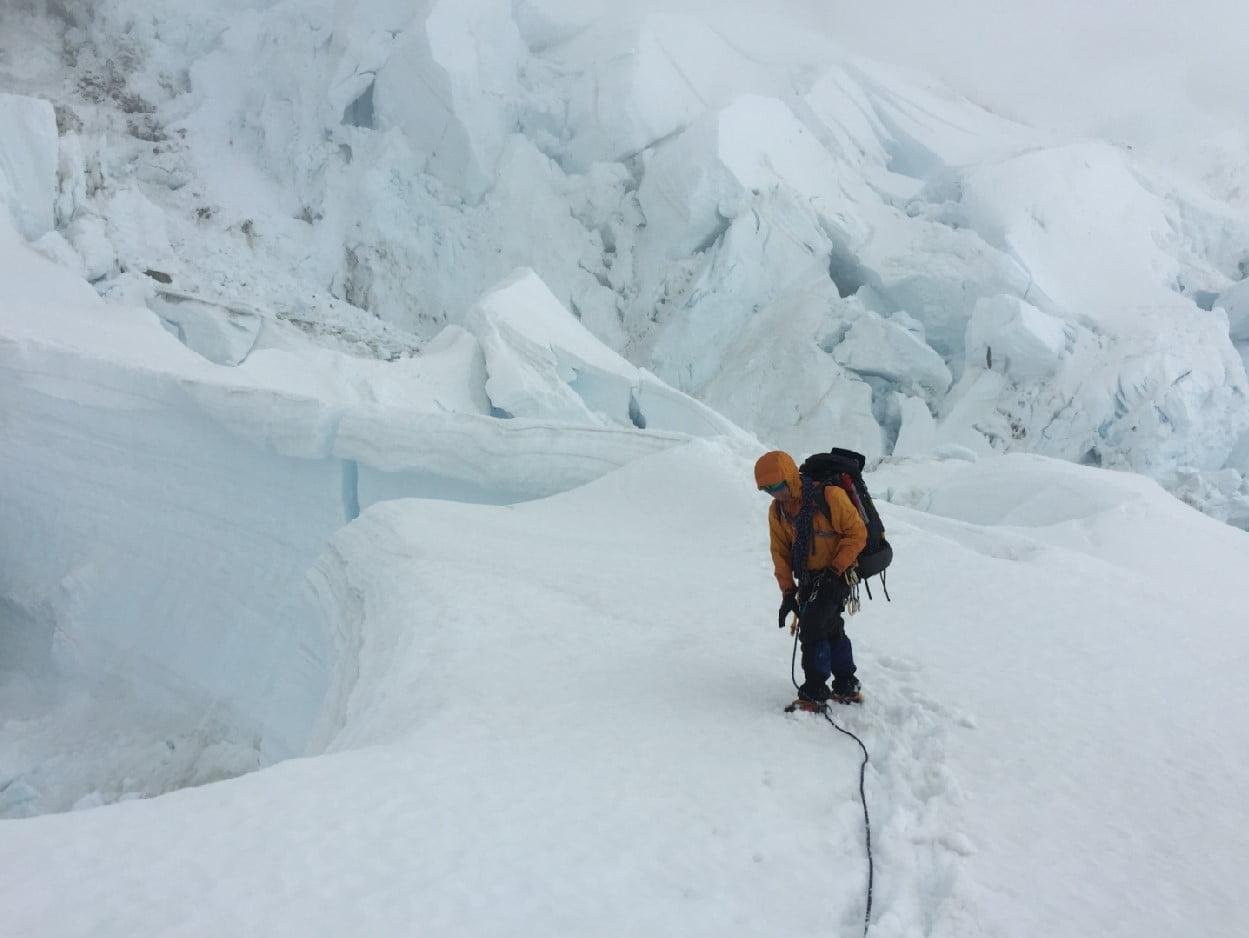 Linda Glacier Upper Part