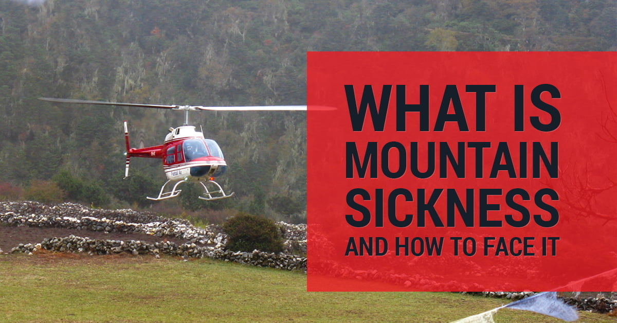 how to face mountain sickness