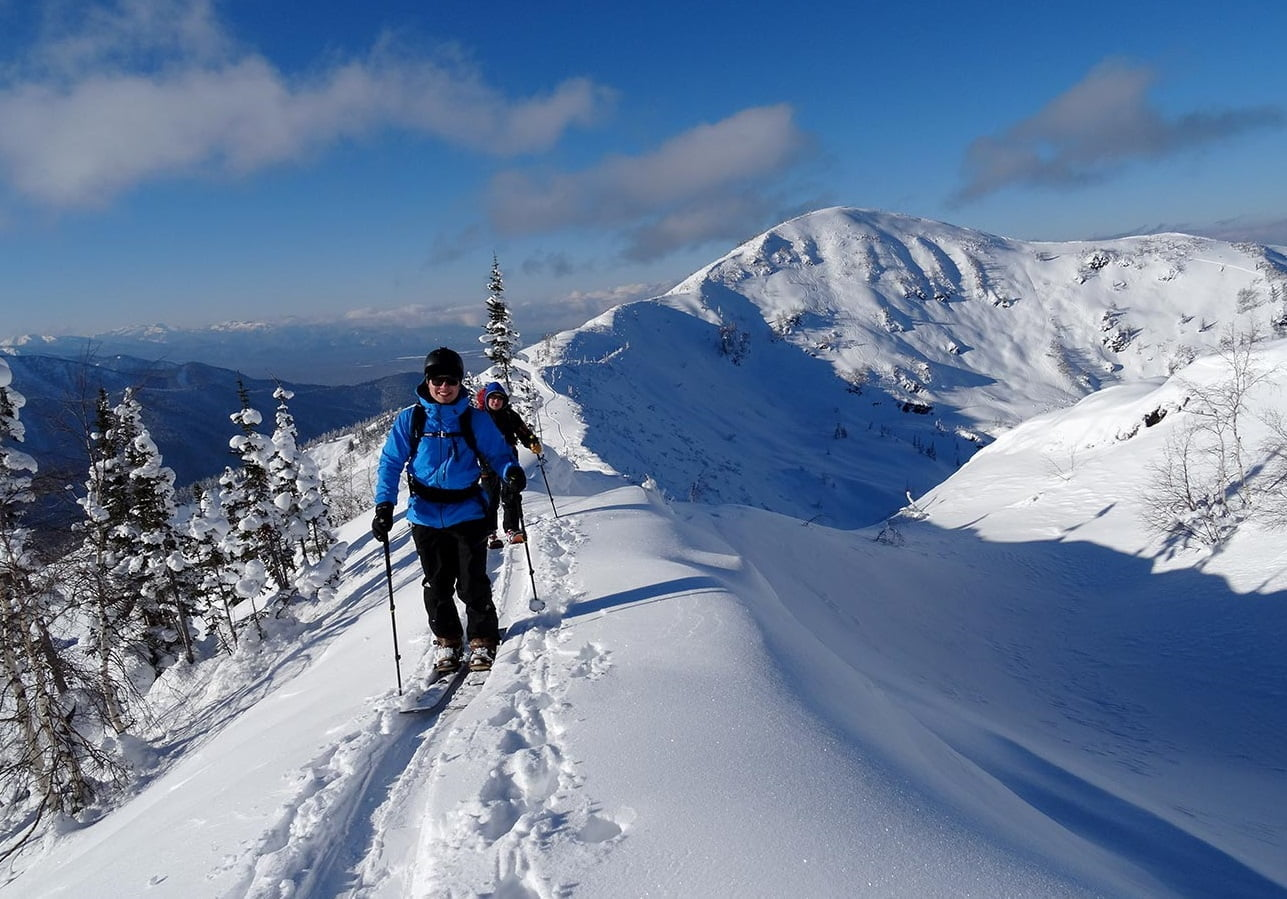 10 best freeride & skitour spots in russia | mountain planet