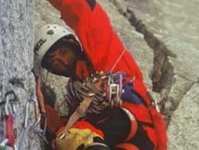 Image of Lena, Aiguille du Dru (3 754 m / 12 316 ft)