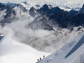 Image of Italian Normal Route, Mont Blanc (4 810 m / 15 781 ft)
