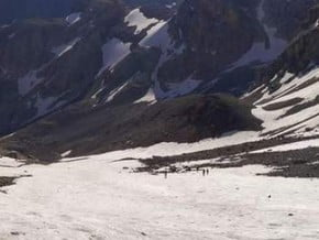 Image of Normal Route, Zamok (5 070 m / 16 634 ft)