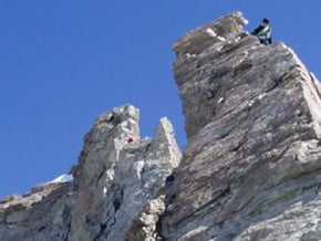 Image of South Ridge, Dent Blanche (4 357 m / 14 295 ft)