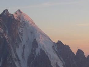 Image of South-West Face, Aiguille d'Argentière (3 900 m / 12 795 ft)