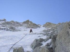 Image of North Face, Les Courtes (3 856 m / 12 651 ft)