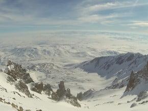 Image of Seytan (Devil's) Couloir, Erciyes Dağı (3 917 m / 12 851 ft)