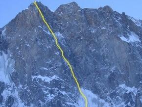 Image of Сolton-McIntyre Route, Grandes Jorasses (4 208 m / 13 806 ft)