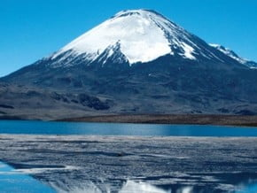 Image of Nevado Sajama (6 542 m / 21 463 ft)
