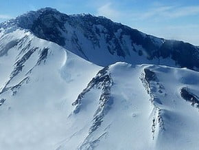 Image of Mount Sidley (4 285 m / 14 058 ft)