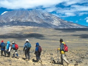 Image of Rongai, Kilimanjaro (5 895 m / 19 341 ft)