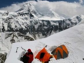 Image of South Rib, Pik Yevgenii Korzhenevskoy (7 105 m / 23 310 ft)