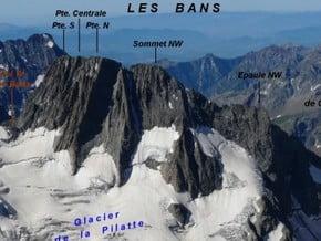 Image of Travers, Les Bans (3 669 m / 12 037 ft)