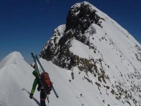 Image of South Ridge, Piz Bernina (4 049 m / 13 284 ft)