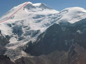 Image of West Face, Mount Elbrus (5 642 m / 18 511 ft)