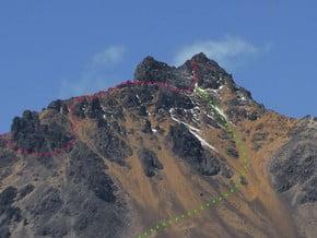 Image of North Face, Iliniza (5 263 m / 17 267 ft)