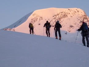 Image of Bernese Oberland Traverse Ski Tour, Alps