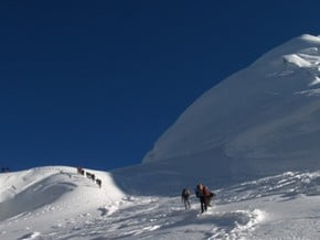 Image of Parchamo (6 274 m / 20 584 ft)