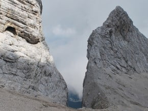 Image of South East Route, Jalovec (2 645 m / 8 678 ft)