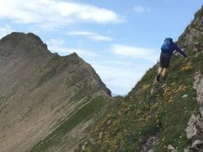 Image of East Ridge, Grauspitz (2 599 m / 8 527 ft)