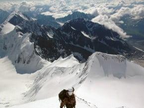 Image of Route via Tomskie nochevki camp/Delone pass, Belukha (4 506 m / 14 784 ft)