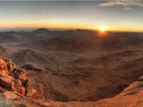 Image of Normal Route, Mount Sinai (2 285 m / 7 497 ft)